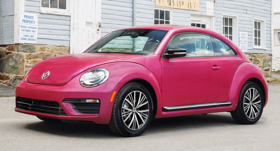 What Brands Does Volkswagen Own >> This Pink VW Beetle Raised Over $30,000 For Breast Cancer ...