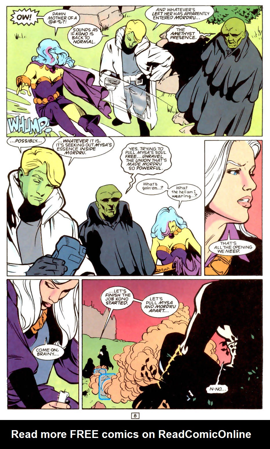 Legion of Super-Heroes (1989) 48 Page 8