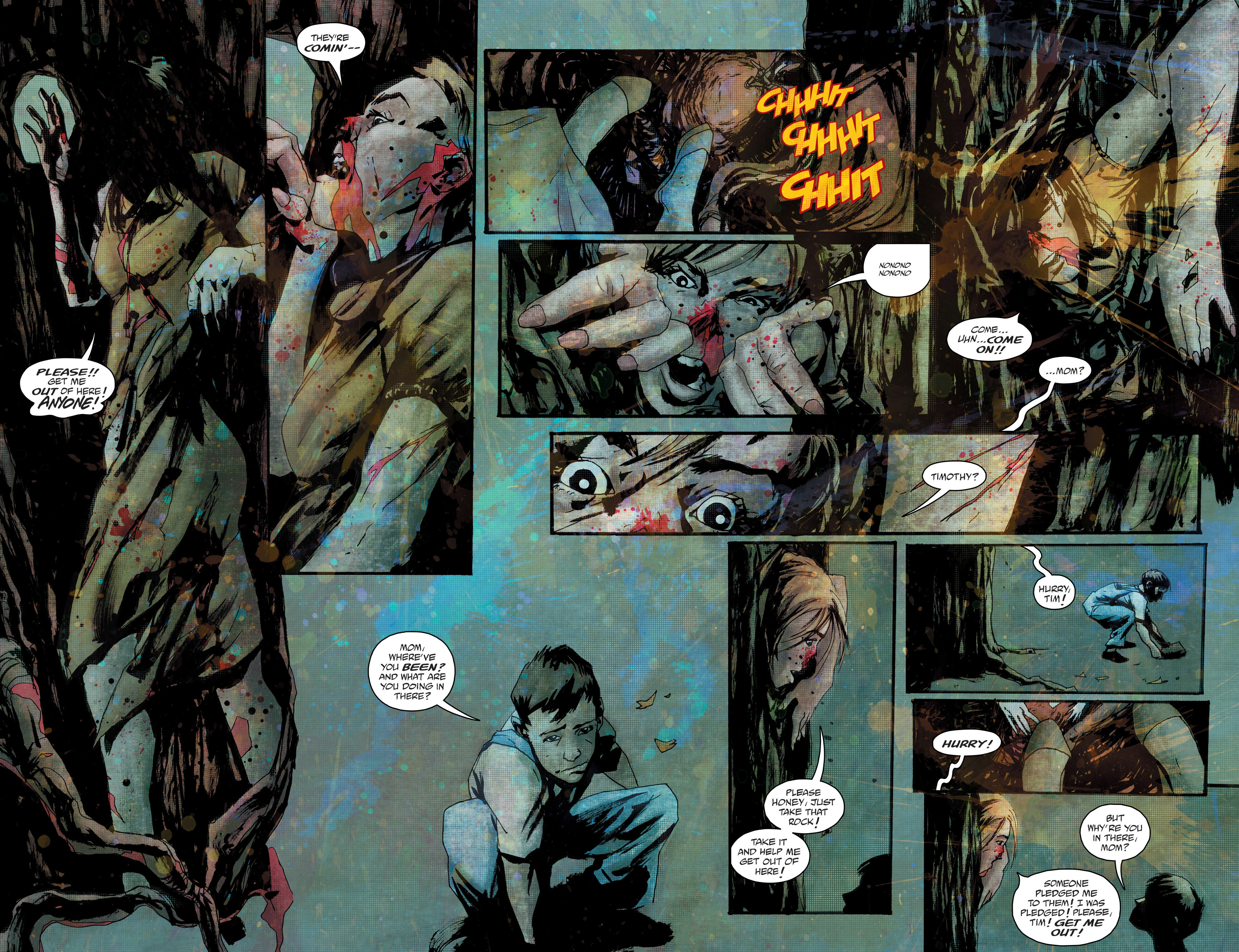 Read online Wytches comic -  Issue #1 - 6