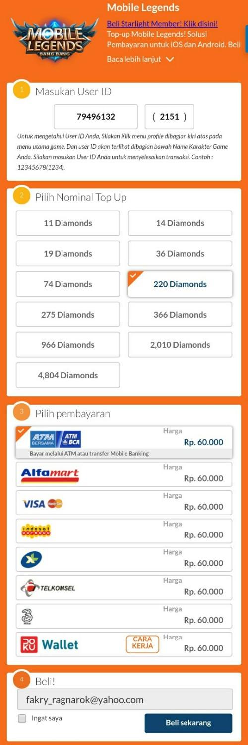 Cara isi diamonds mobile legends via codashop mungkin yang paling praktis jika anda tidak memiliki kartu kredit adalah melalui situs codashop mungkin juga solusi pembayaran melalui situs tersebut stopboris Images
