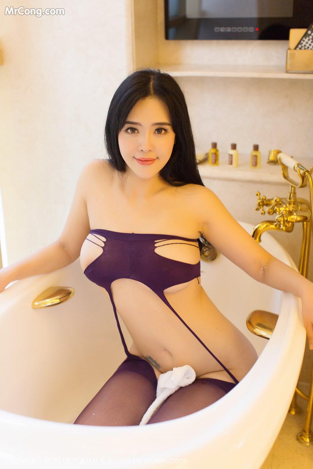 Image YouMi-Vol.124-Liu-Yu-Er-MrCong.com-030 in post YouMi Vol.124: Người mẫu Liu Yu Er (刘钰儿) (41 ảnh)