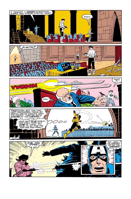 Captain America (1968) Issue #321 #249 - English 22