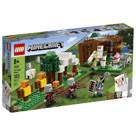 Minecraft The Pillager Outpost Lego Set