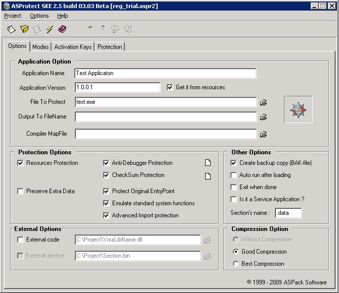 ASProtect SKE v2 51 build 09 22 Beta Full Crack | Yoza2002