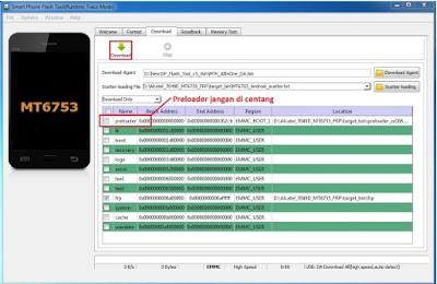Cara Bypass FRP Akun Google Alcatel Flash 2 (7049D) via SP Flashtool Mudah
