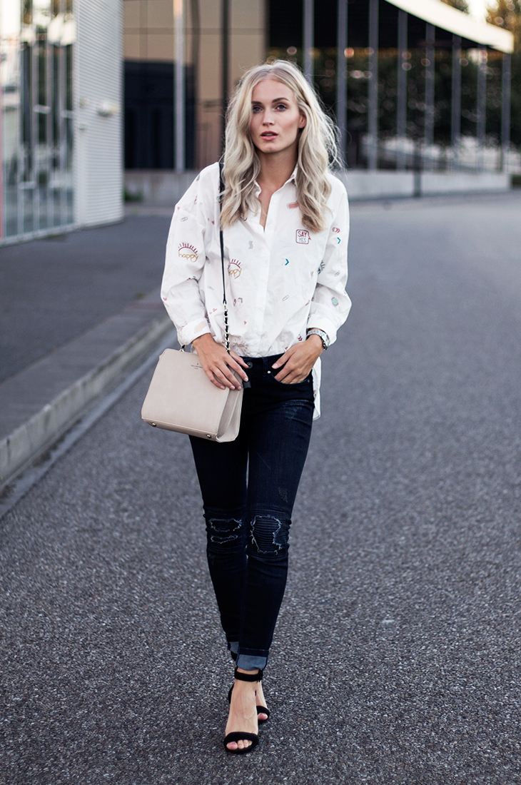 Fashion Attacks outfit ootd Tigha Bonnie jeans