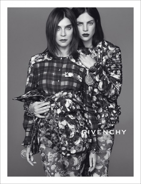 Newsflash: Givenchy's Fall/Winter 2013 Campaign Starring Carine Roitfeld and Daughter Julia!