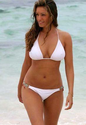 Have natural bikini body fat