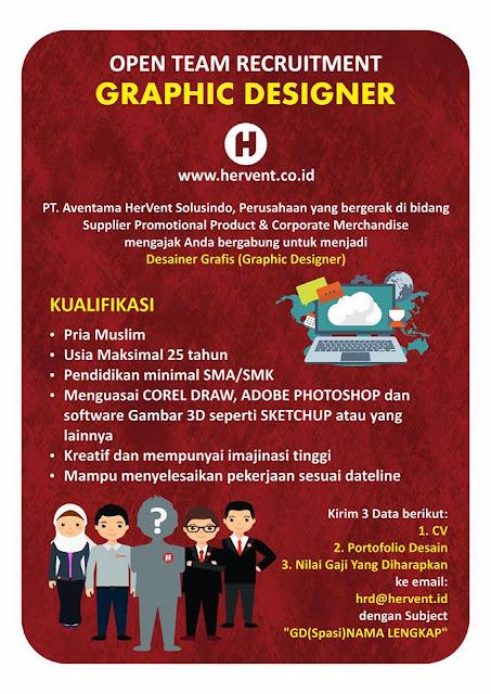 Lowongan Graphic Designer di Bandung