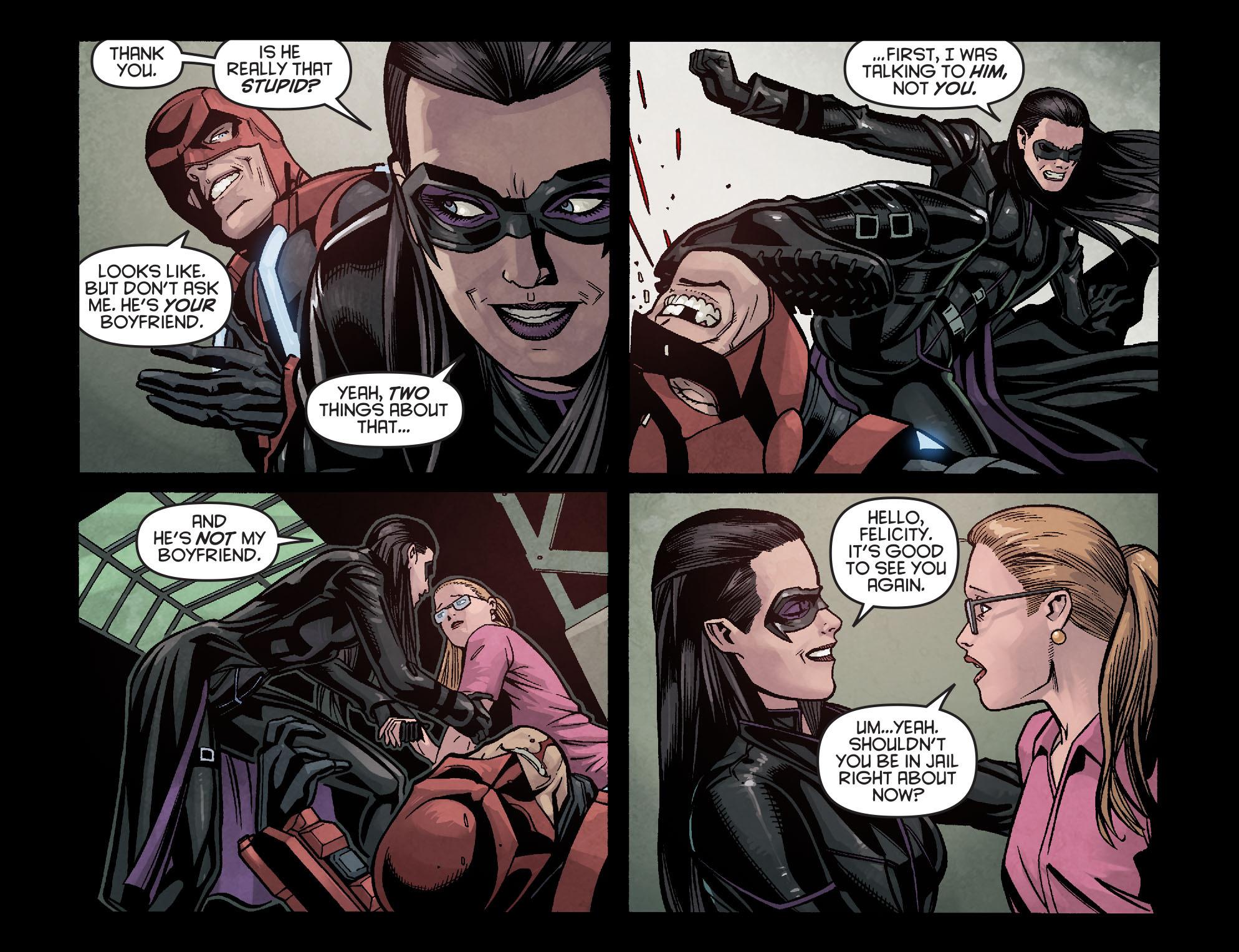 Read online Arrow: Season 2.5 [I] comic -  Issue #16 - 5