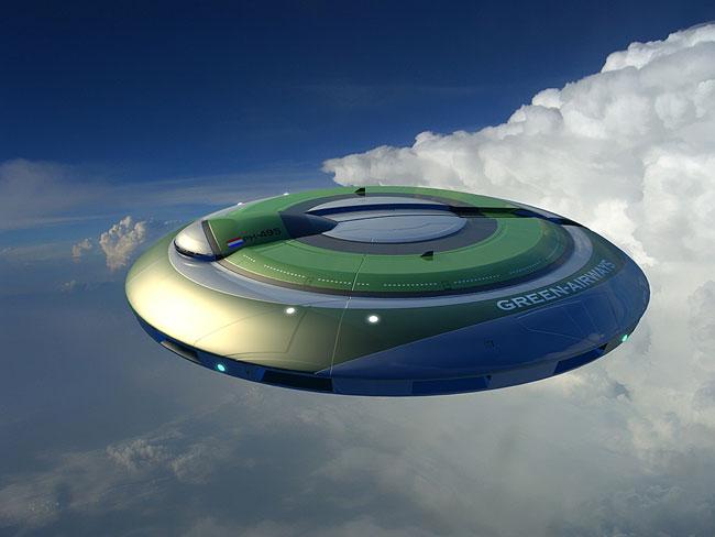 alien flying saucer - photo #11