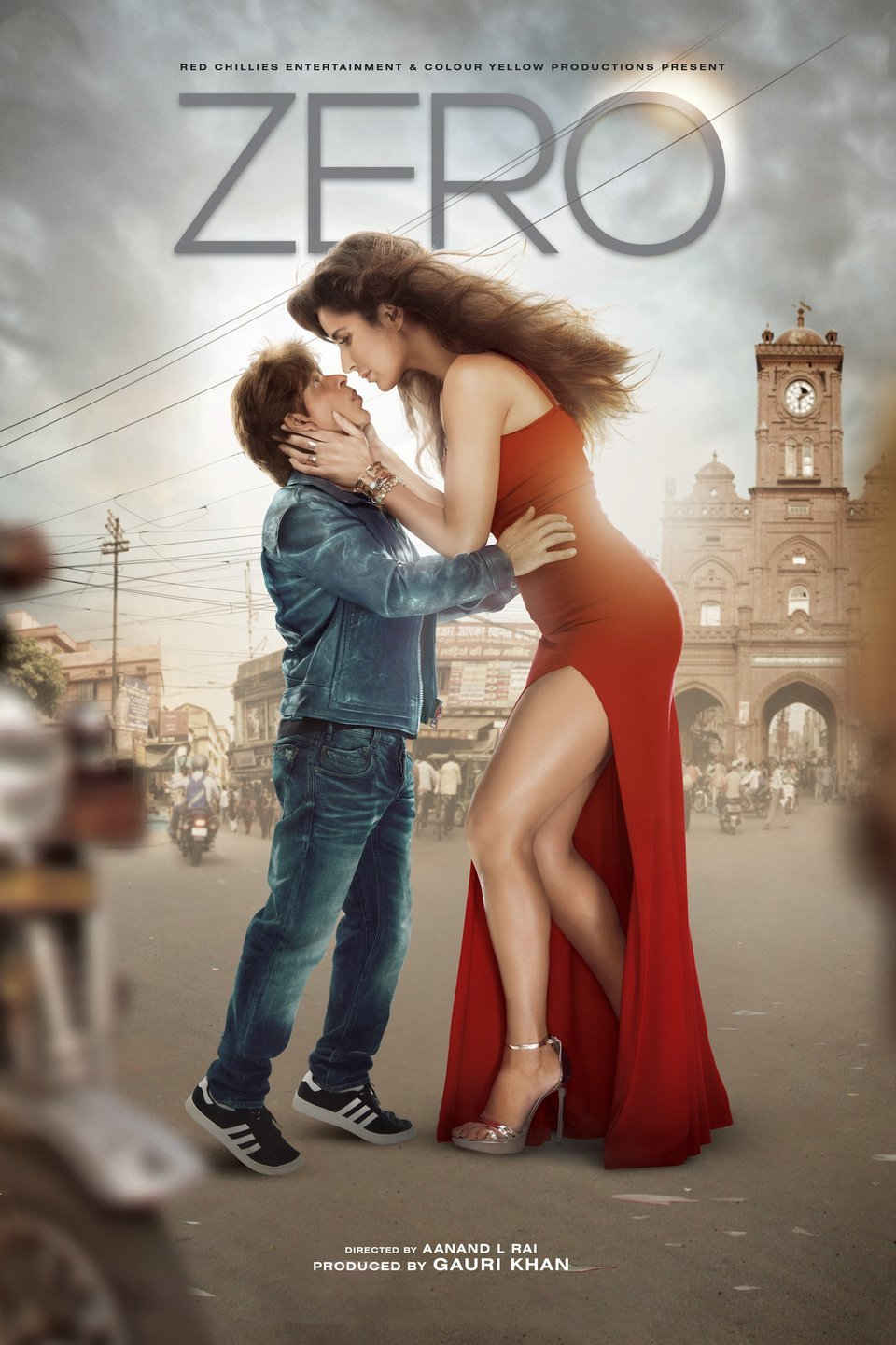 Zero (2018) Hindi 720p HQ DVDRip x264 DD 5.1 1.4GB ESubs
