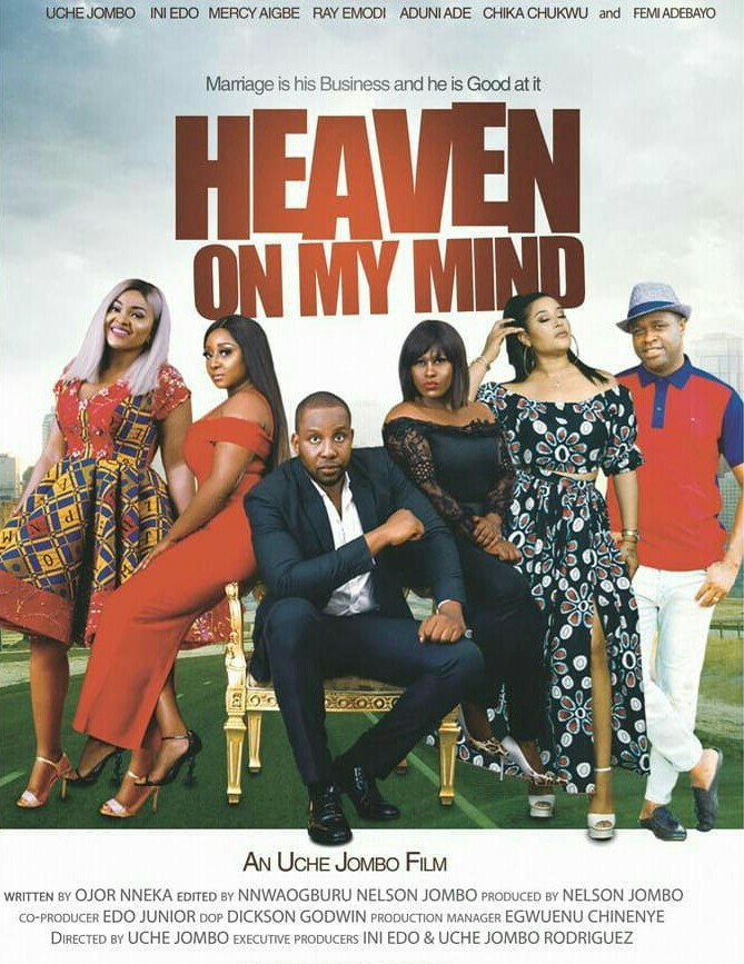Heaven On My Mind (Theatrical Poster)
