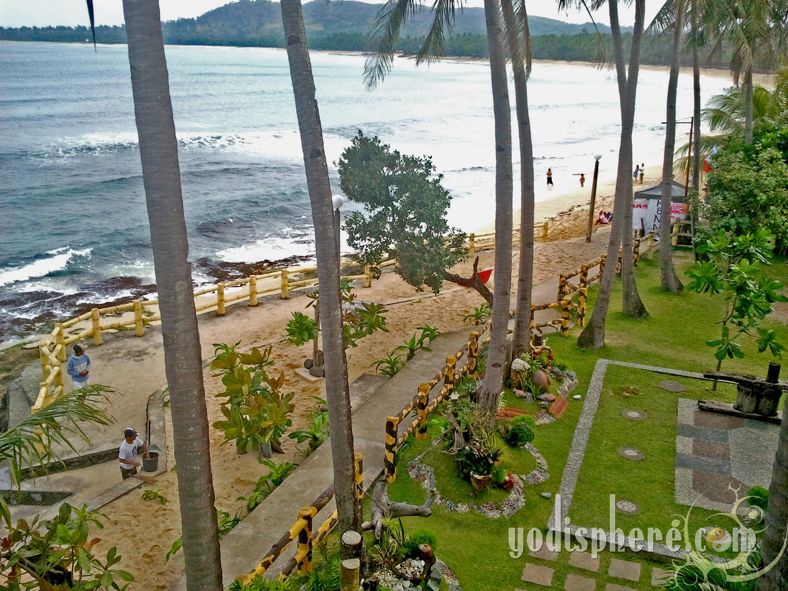 Awesome View Of The Beach From Jun And Carol Resort Veranda