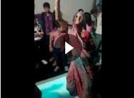 Old-Indian-lady-superb-dance-video-on-dance-floor-image