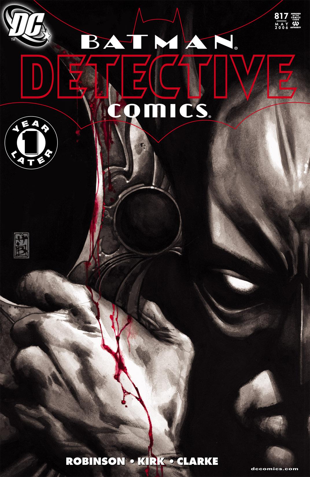 Detective Comics (1937) 817 Page 0