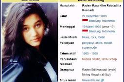 Nike Ardila (dia itu) ? Profil dan Biografi