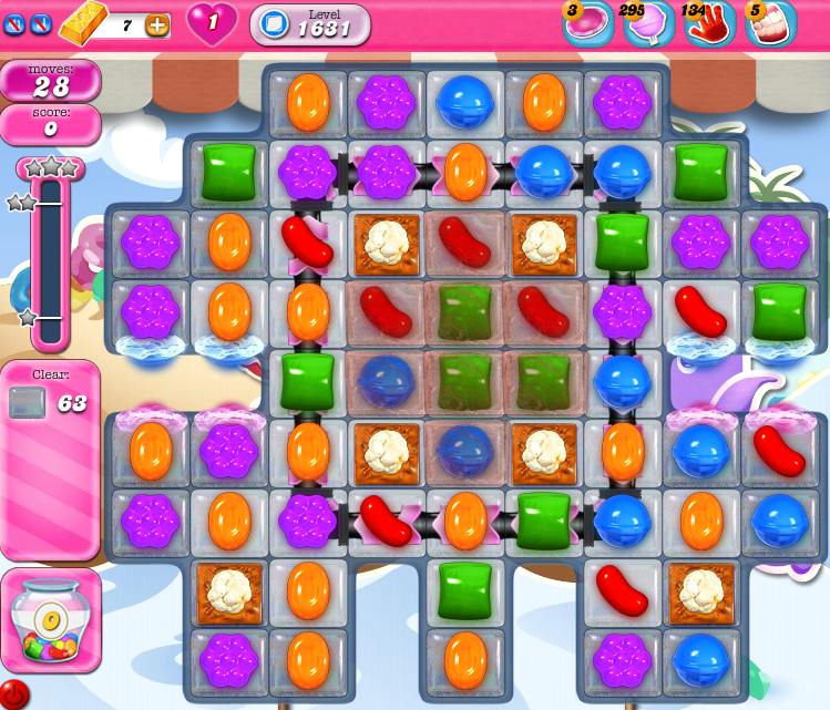 Candy Crush Saga 1631