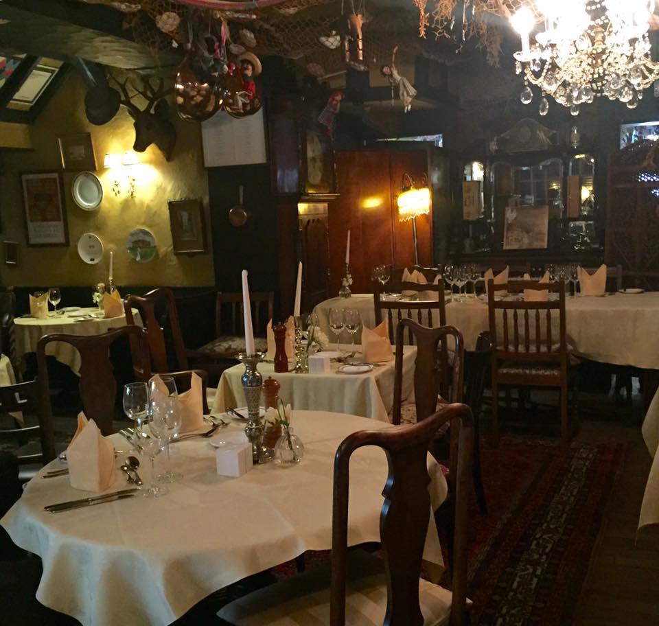 Crab and Lobster Restaurant, Thirsk - interior