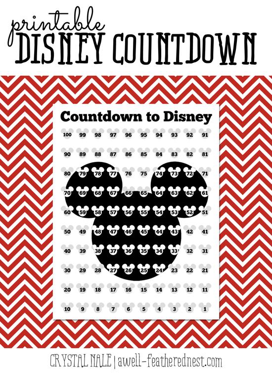 graphic regarding Disney Countdown Printable called Countdown times disney - Bitcoins kopen fulfilled telefoon