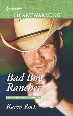 Bad Boy Rancher by Karen Rock cover