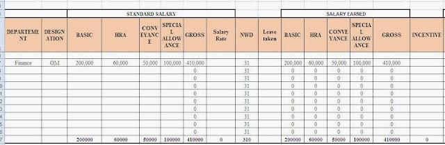 salary computation in excel xv-gimnazija