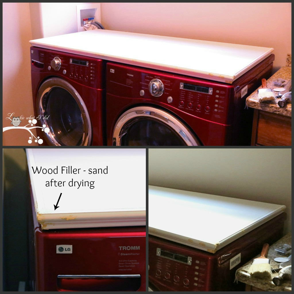 Lookie What I Did Laundry Room Makeover Week Counter