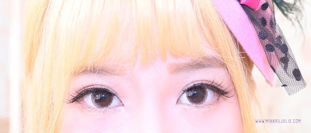 X2 Bio Lace brown Softlens Review