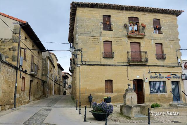 Calles de Sajazarra