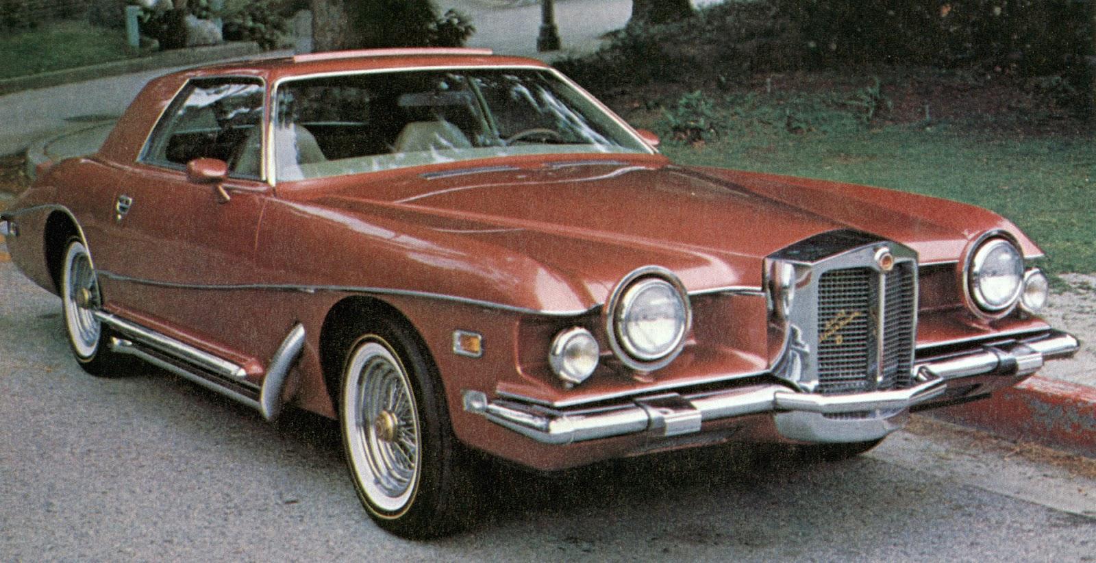 1976 Blakely Bearcat Roadster Red |1976 Stutz Bearcat