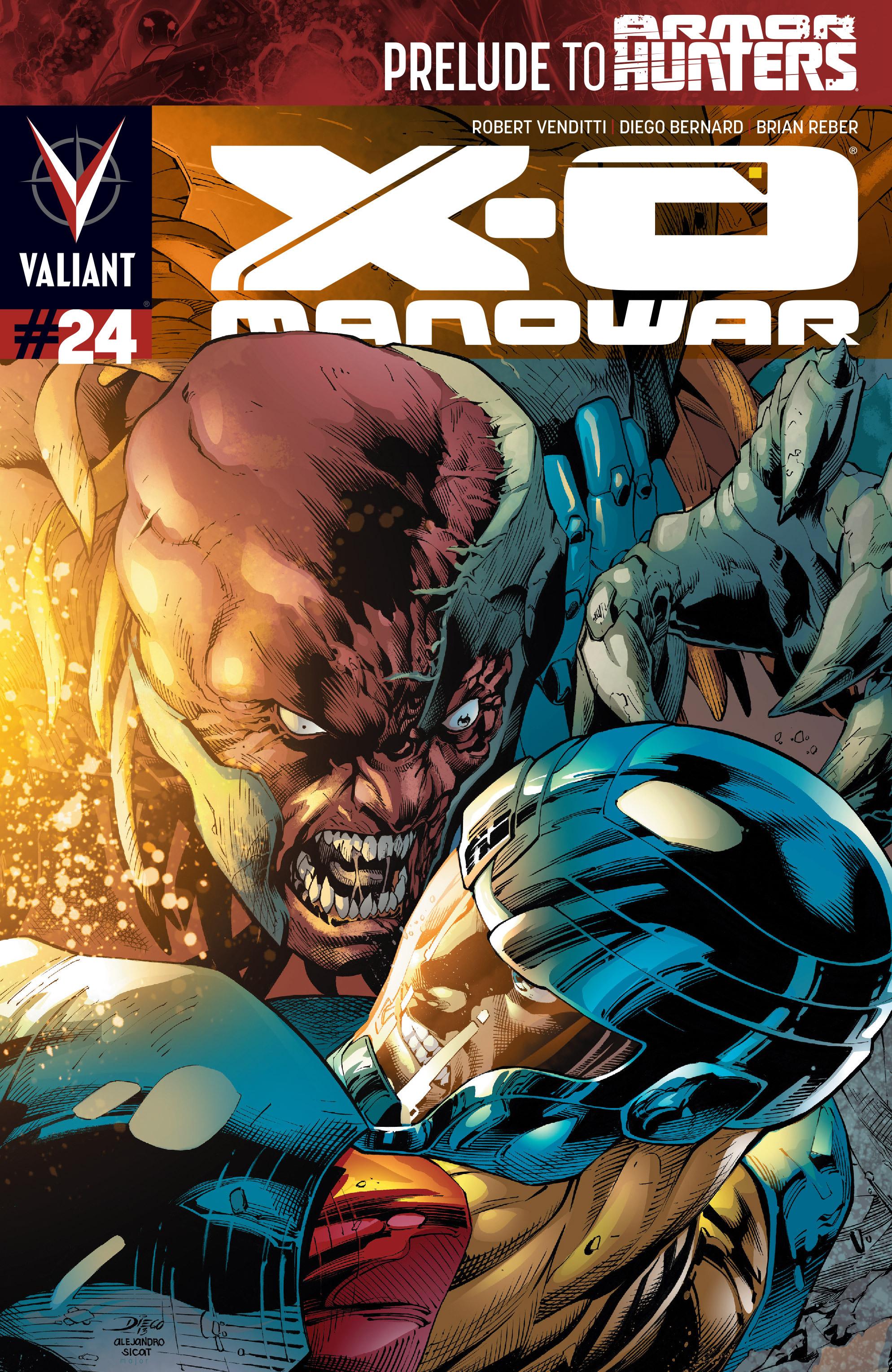 X-O Manowar (2012) 24 Page 1