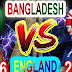 Bangladesh vs England 2nd ODI