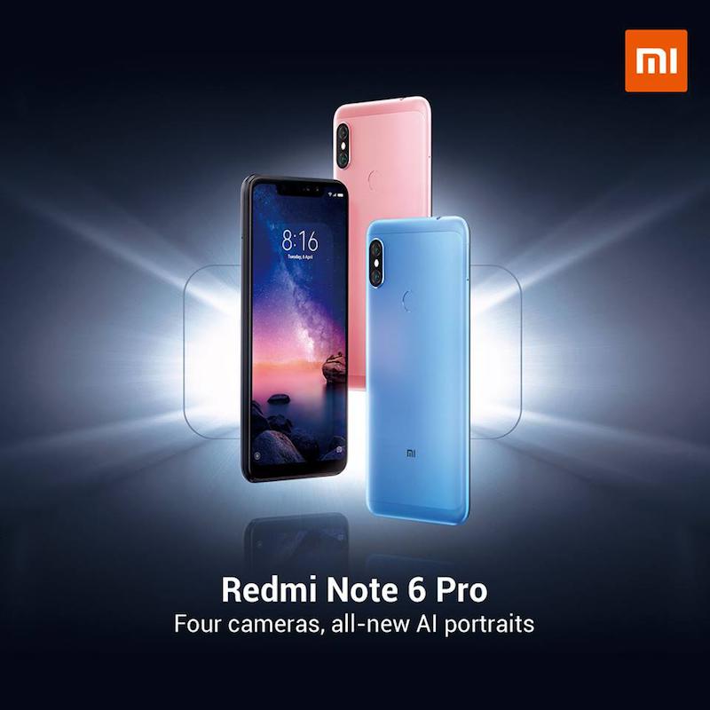 Xiaomi Redmi Note 6 Pro - 5,584 hits as of writing