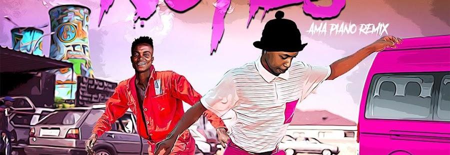 Download Tshego ft King monada & Mfr souls – No ties (Amapiano remix)