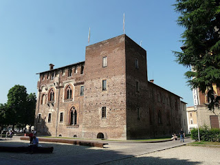 The Visconti castle at Abbiategrosso in Lombardy