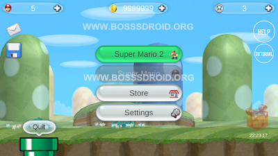 Game Super Mario Bros 2 Apk Mod Money