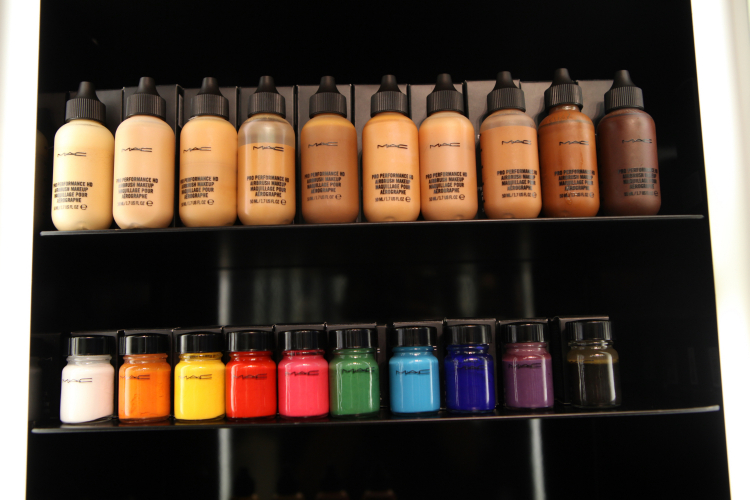 M A C Cosmetics Opens Its Exclusive Pro In Mumbai India