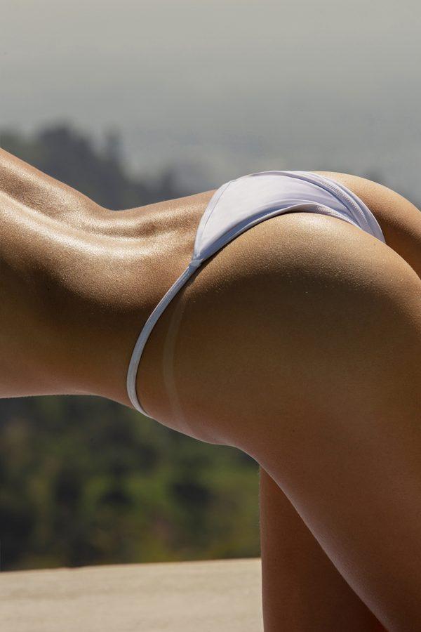 top hot model Moa Aberg sexy bikini pose