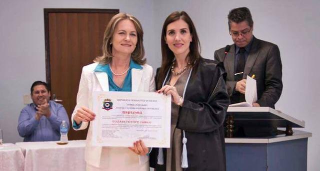 Manoel Ribas: Bete Camilo foi diplomada pela Justiça Eleitoral
