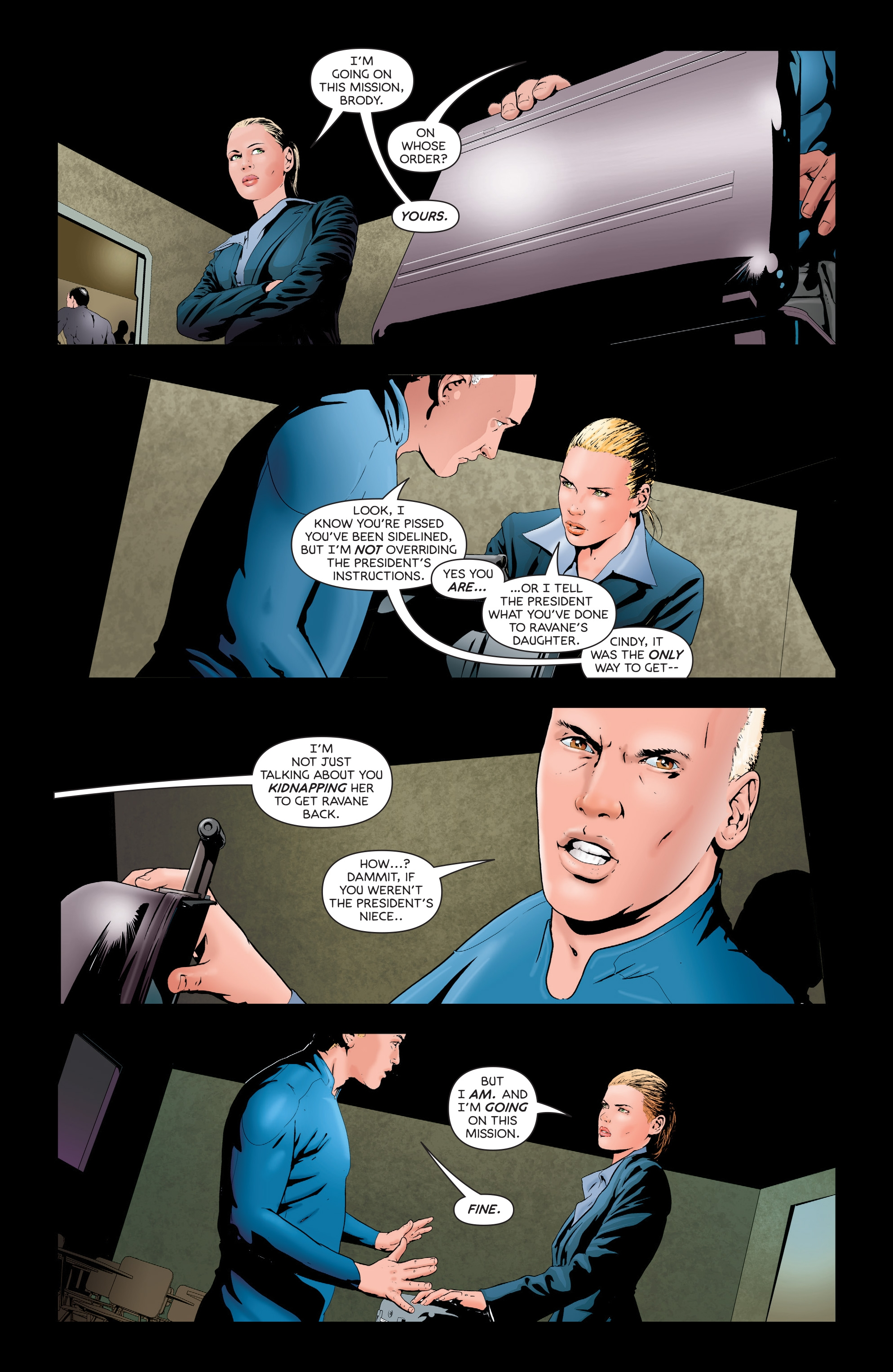 Read online Failsafe comic -  Issue #3 - 23
