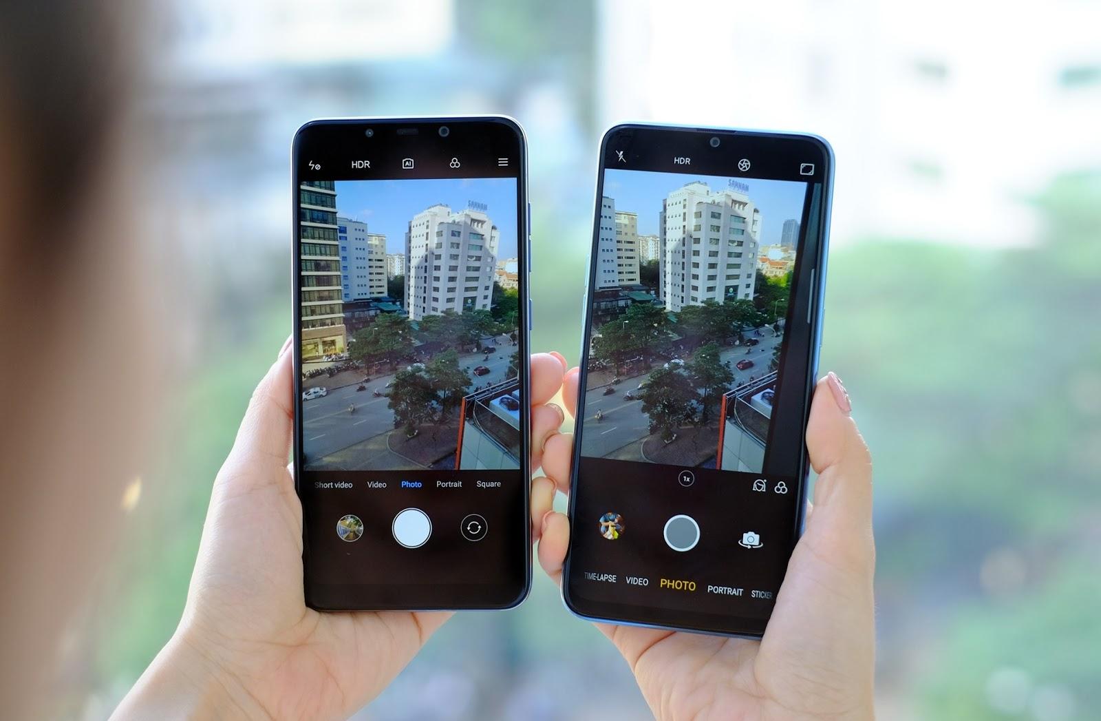 Tầm 8 triệu nên mua điện thoại nào Pocophone F1 hay Realme 2 Pro
