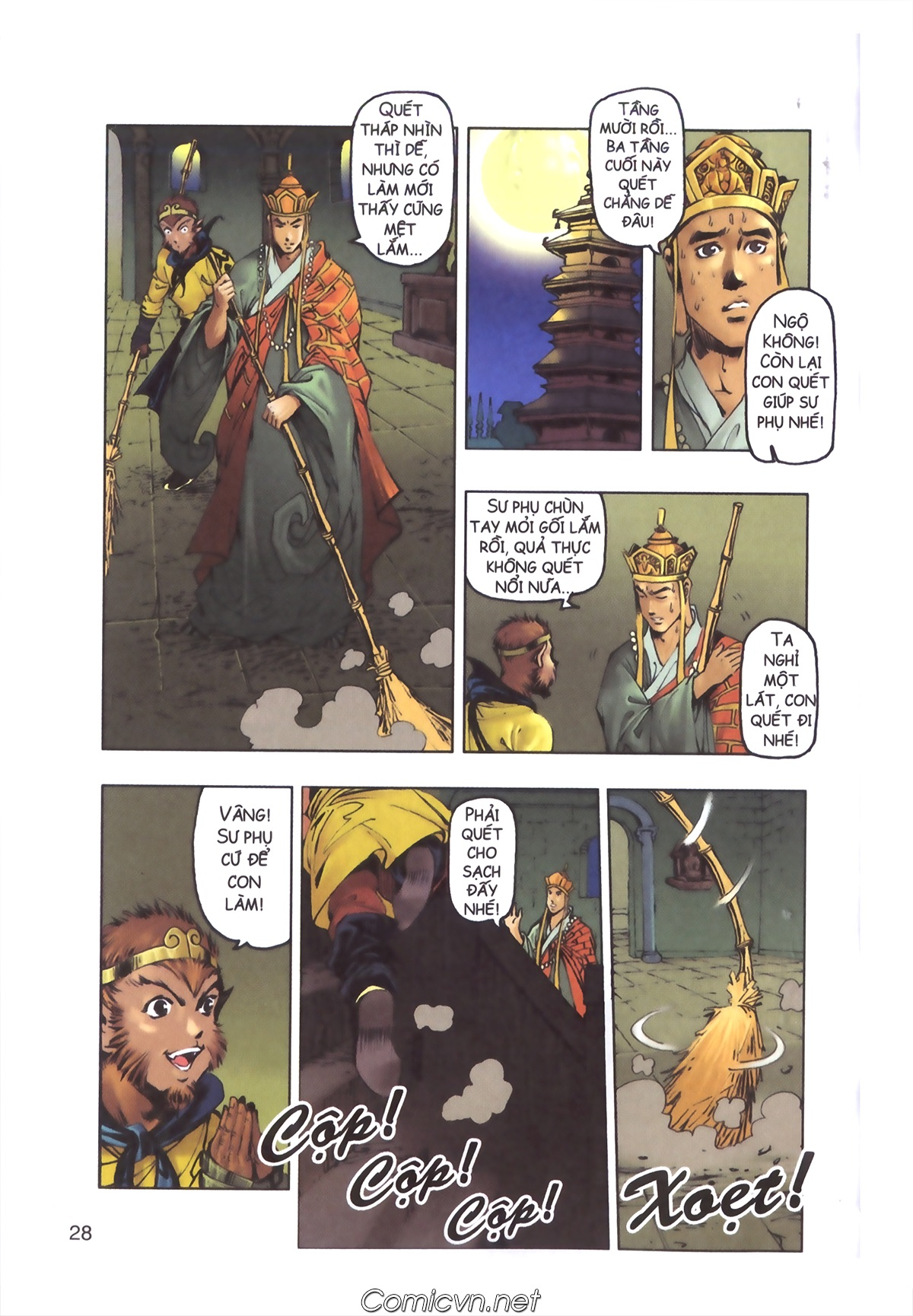 Tây Du Ký màu - Chapter 110 - Pic 26