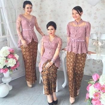 Model Baju Kebaya Brokat Modern Terbaru Model Baju 2018