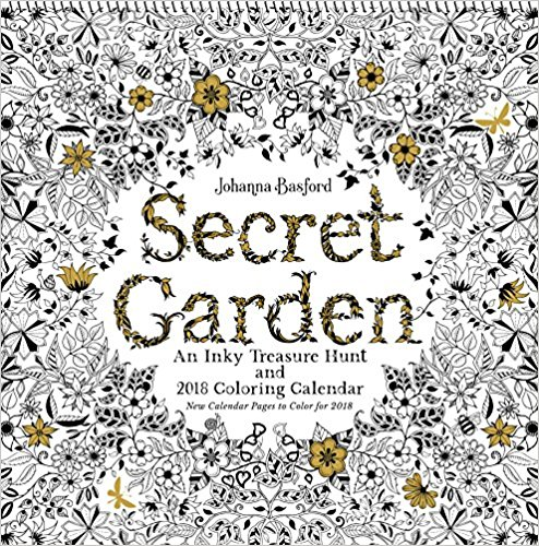 Enchanted Forest And Secret Garden I Was Given The 2017 Version Of This Its Really Lovely Review Is