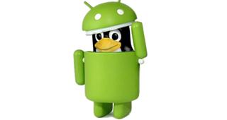 Android esta basado en el núcleo de Linux, mas no en GNU.