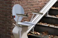 Zewnętrzne krzesełko schodowe firmy Otolift
