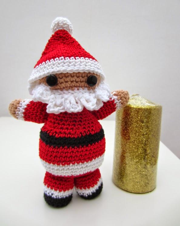 JENGI Amigurumi Tutorial Crochet- Nivel Básico Navidad (Patrón en ... | 744x594