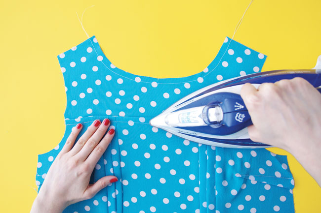 How to sew French seams - Tilly and the Buttons
