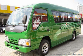 Sewa Mobil Isuzu Elf 14 Seater Pekanbaru Padang