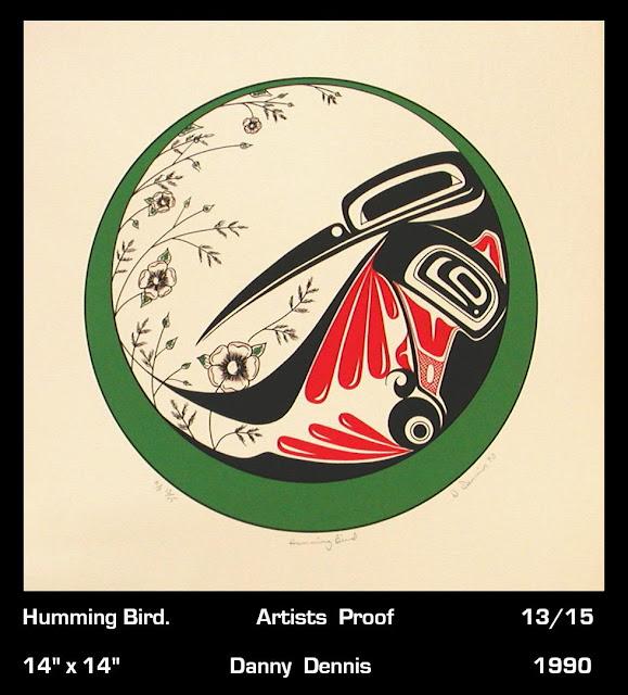 Danny Dennis print Hummingbird